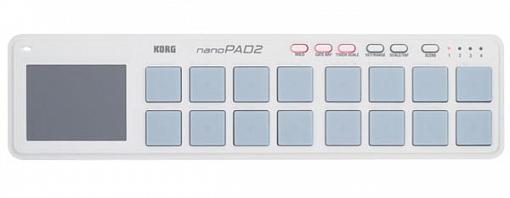 MIDI-контроллер KORG NANOPAD2-WH
